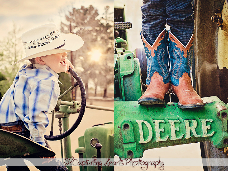 Little+boy+farmer+cowboy+laughing+country+TRACTOR+boots+greenback+tn+photography+child