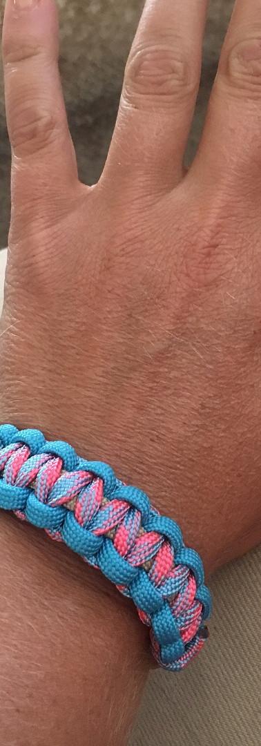 Bracelet: Teal Pink
