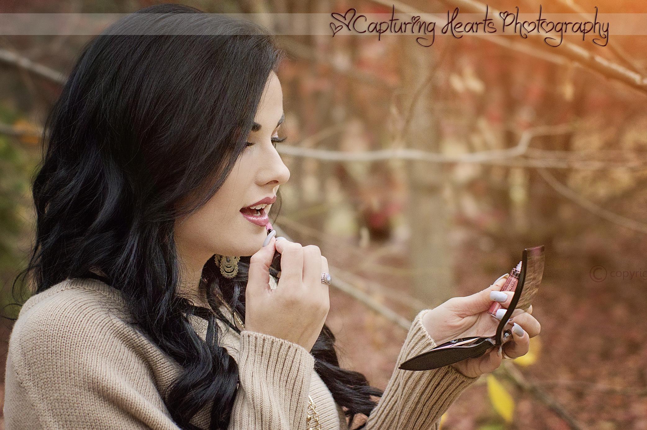 make up senior photos knoxville photography tn