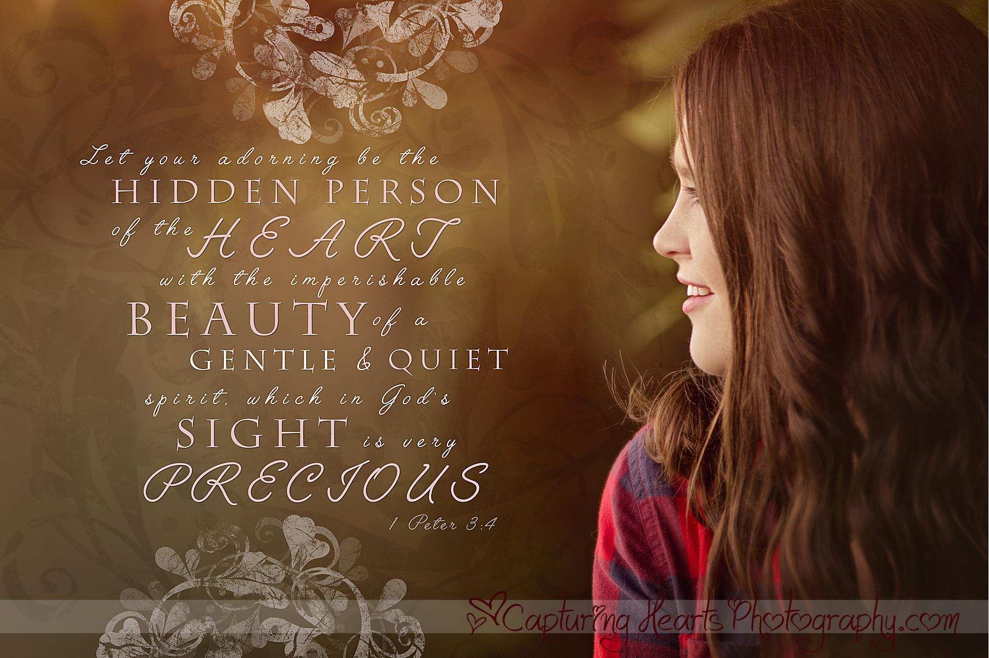 inner beauty bible verse web