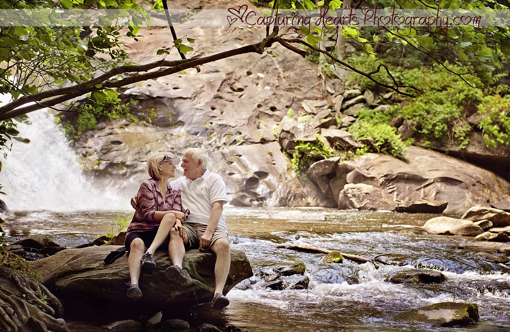 Anniversary photos bald river falls waterfall screen