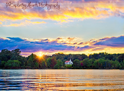 Beautiful+Chirch+with+waterfront+view+at+sunset+fine+art+photography+in+maryville+tennessee
