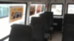 Реклама в маршрутках, Реклама на транспорте, Размещение рекламы в автобусах Костромы