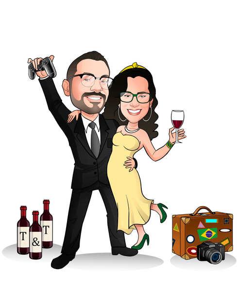Caricatura noivos online gratis.jpg
