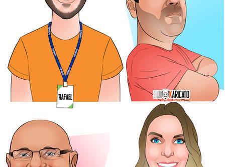 Promoção Relâmpago Caricatura Online à partir de R$35,00!