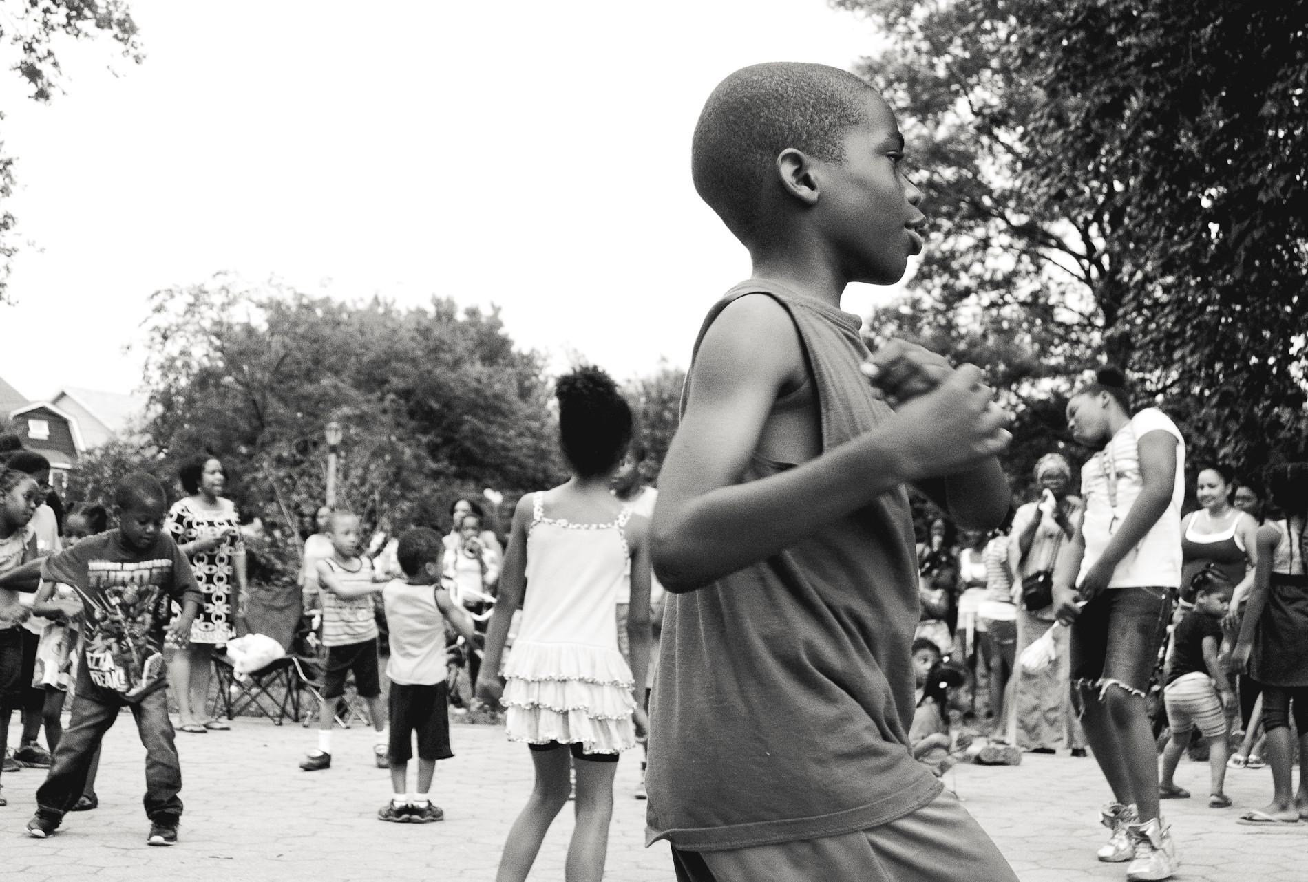 Dancing in Flatbush.