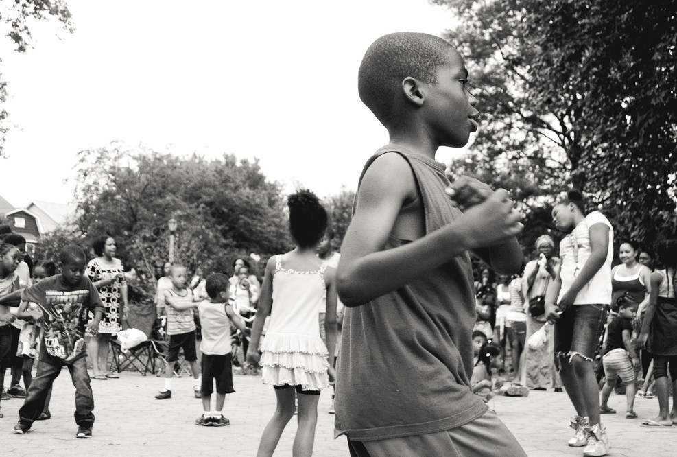 Black Boy Joy, dancing in Flatbush.