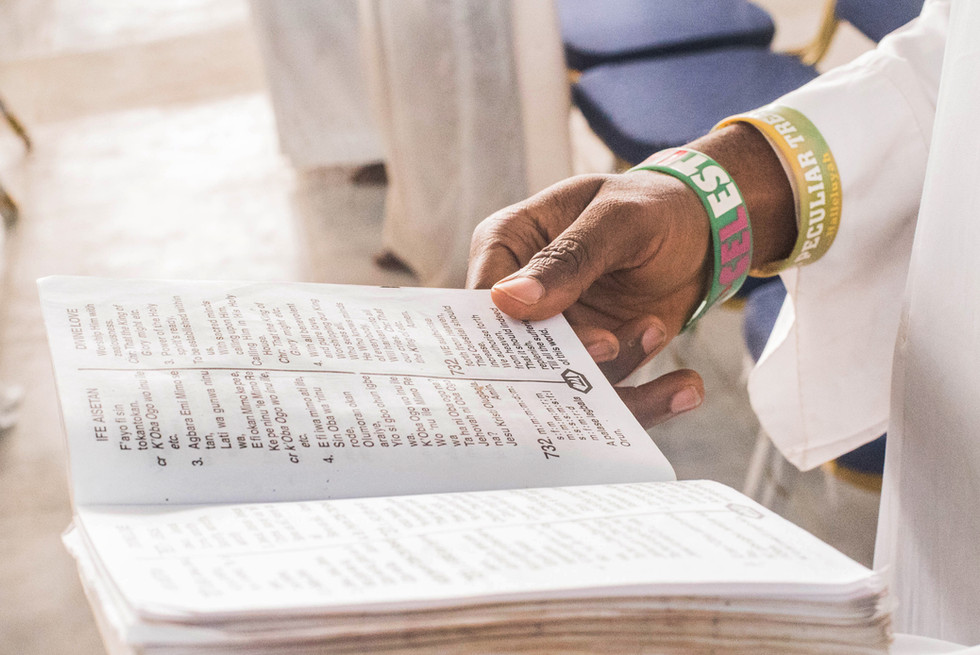 Reading of scripture and time in deep prayer is a critical part of his religion.