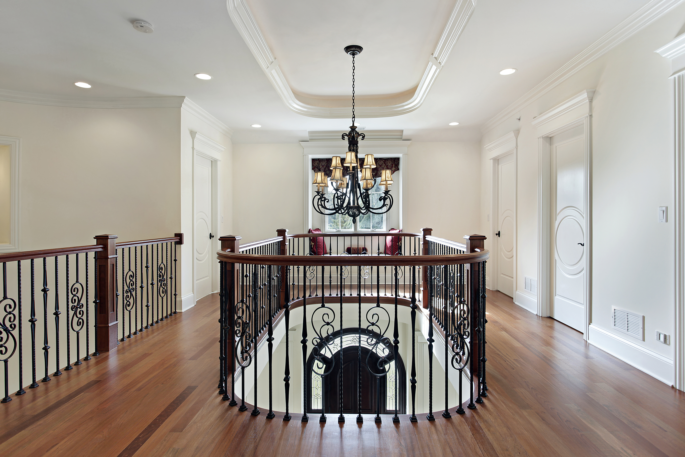 Second Floor Landing In Luxury Home
