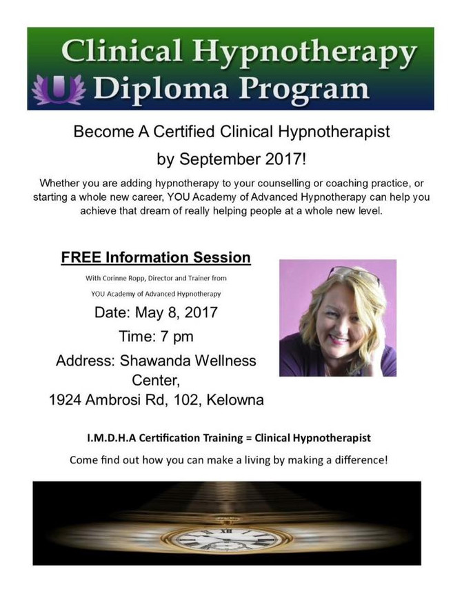 Be a Certified Hypnotherapist
