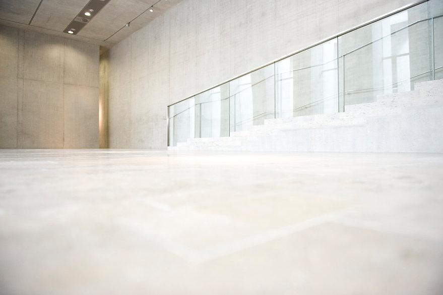 escadas brancas
