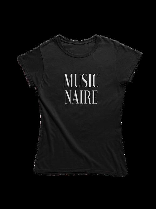 Women Black Tee Shirt