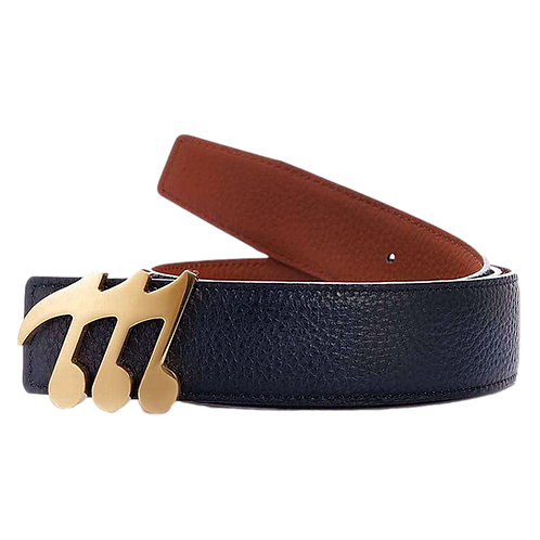 Musicnaire Belt & Reversible Color Leather Strap