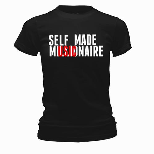 Women Black Signature Tee Shirt