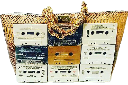 Signature Cassette Tape Handbag
