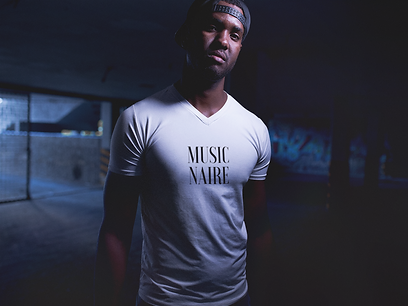 V-Neck White T-Shirt