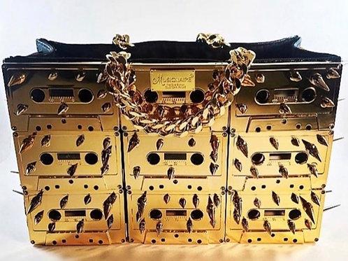 14kt. Gold Cassette Tape