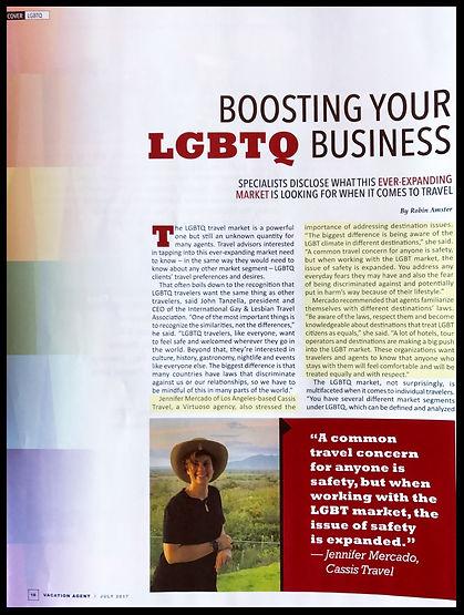 Jennifer Mercado, Vacation Agent - Boosting Your LGBTQ Business