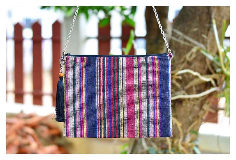 Tablet Case In Red Violet Tone, Cross body Bag, Messenger Bag