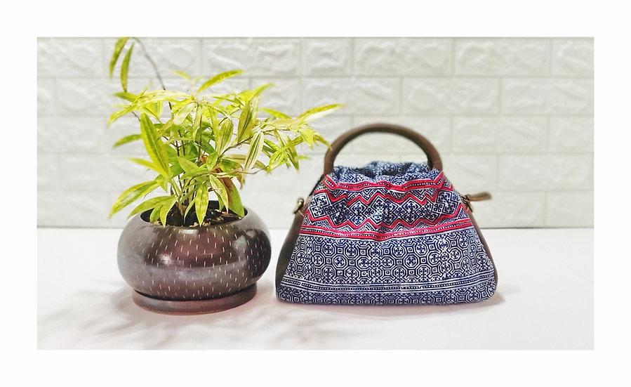 Hmong Handbags,Tribal Bag, Water-splashed Bags, Ethnic Handbag, Indigo Purses