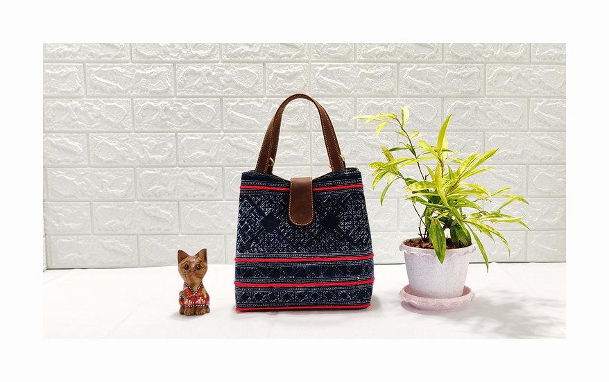 """Miniature"" Hmong Batik Shoulder Bag and Hand Bag"