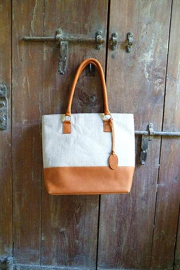 Tribal Hemp Bag, Tote, Shopping Bag