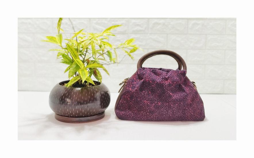 Hmong Handbags,Tribal Bag, Water-splashed Bags, Ethnic Handbag, Red Purses