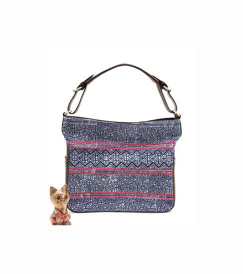 Tribal Bag, Hmong Tote Bag,  Indigo Purses, Hobo Bags, Gift Ideas
