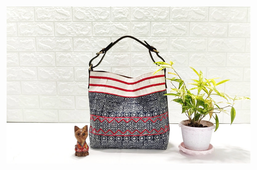 Sarah,Hmong Tote Bag, Tribal Bag, Hobo Bags, Water-splash Bag