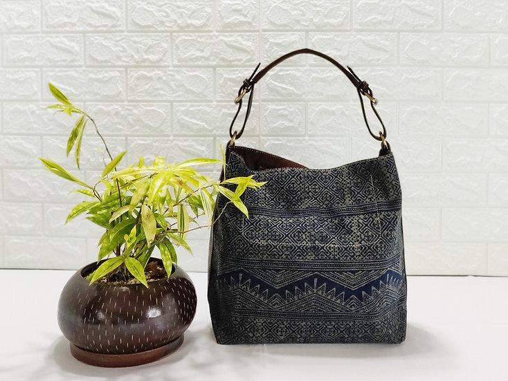 Hobo Bags, Tribal Bag, Hmong Tote Bag,  Water-splash Bag, Green Purses