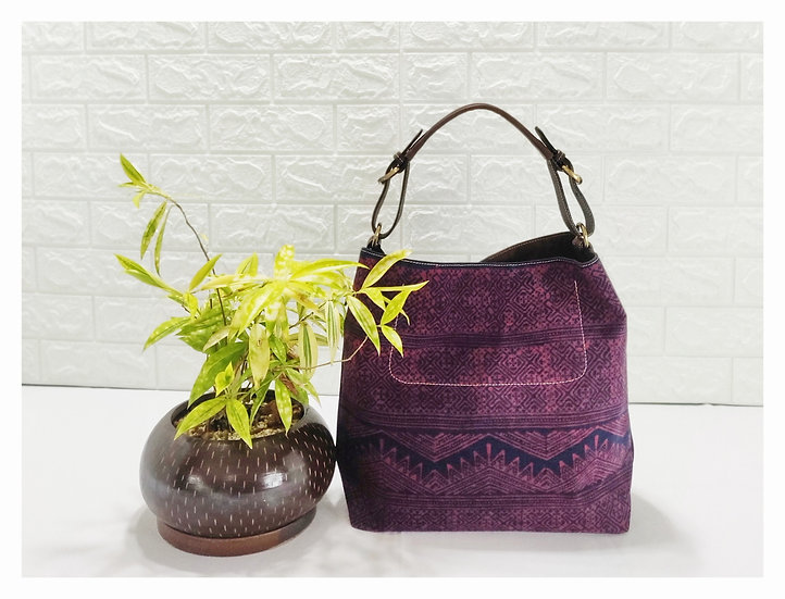 Hobo Bags, Tribal Bag, Hmong Tote Bag,  Water-splash Bag, Red Purses