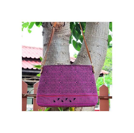 Long Strap Cross Body Bag, Shoulder Bag, Messenger Bag, Pink