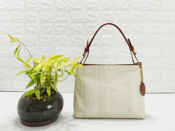 Natural Hemp Hobo Bag, Shoulder Bag