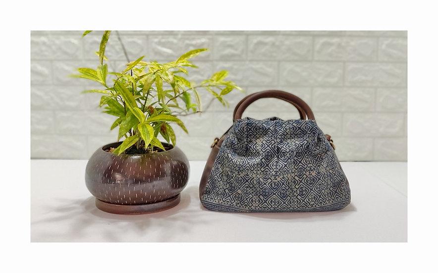 Hmong Handbags,Tribal Bag, Water-splashed Bags, Ethnic Handbag, Green Purses