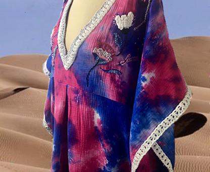 La jolie robe bohème Anfa