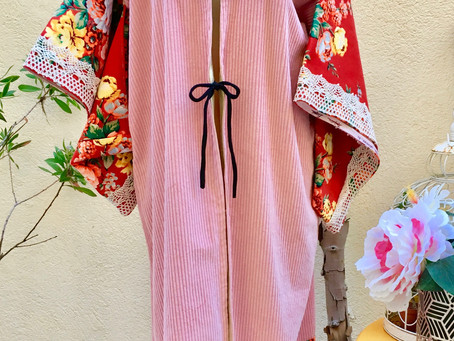 Kimono Baby Pink soldé !