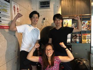 6月9日早朝合同筋トレ!