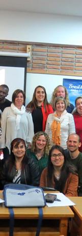 Literáfrica formando professores no Uruguai em Contração de Histórias Africanas