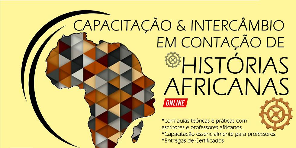 I TURMA - CAPACITAÇÃO & INTERCÂMBIO EM CONTAÇÃO DE HISTÓRIAS AFRICANAS