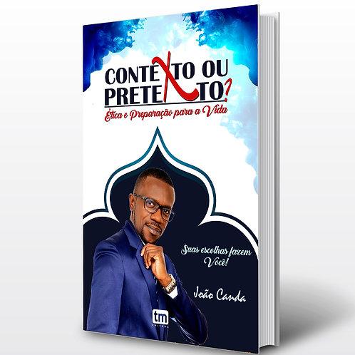 Livro - Contexto ou Pretexto? - João P. Canda (Pesquisa, Angola)