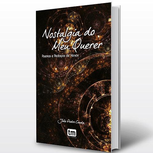 Livro - Nostalgia do meu Querer - João Canda (Poesia, Angola)