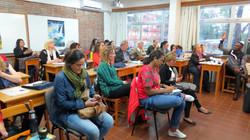 Curso para Professores em Montevideu, Uruguai