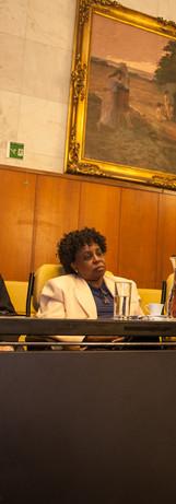 Abertura do II Encontro Internacional com Escritores Africanos no Palácio Anchieta, SP