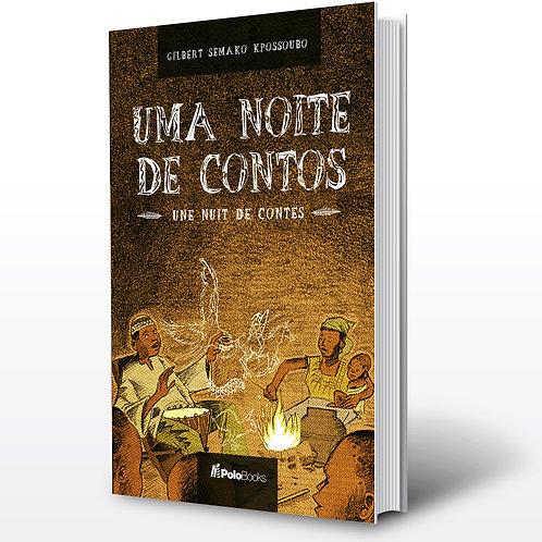 Livro - Um Noite de Contos - Gilbert Kpossoubo (Conto, Benin)