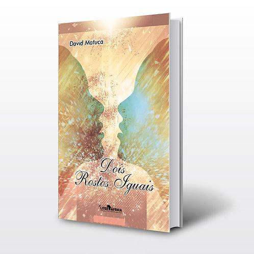 Livro - Dois Rostos Iguais - David Matuca (Poesia, Angola)
