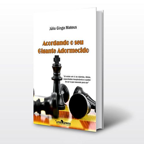 Livro - Um Gigante Adormecido - Júlio Ginga Mateus (Motivação, Angola)