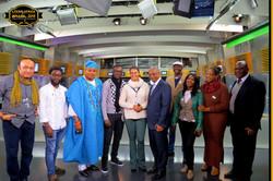 Escritores Africanos na TV Record, São Paulo