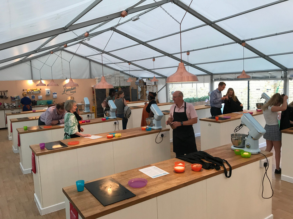Channel your inner Paul Hollywood at The Big London Bake