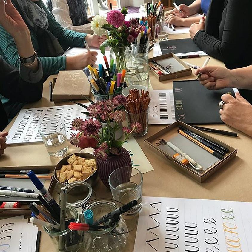 Hand-und Brushlettering Workshop für Einsteiger