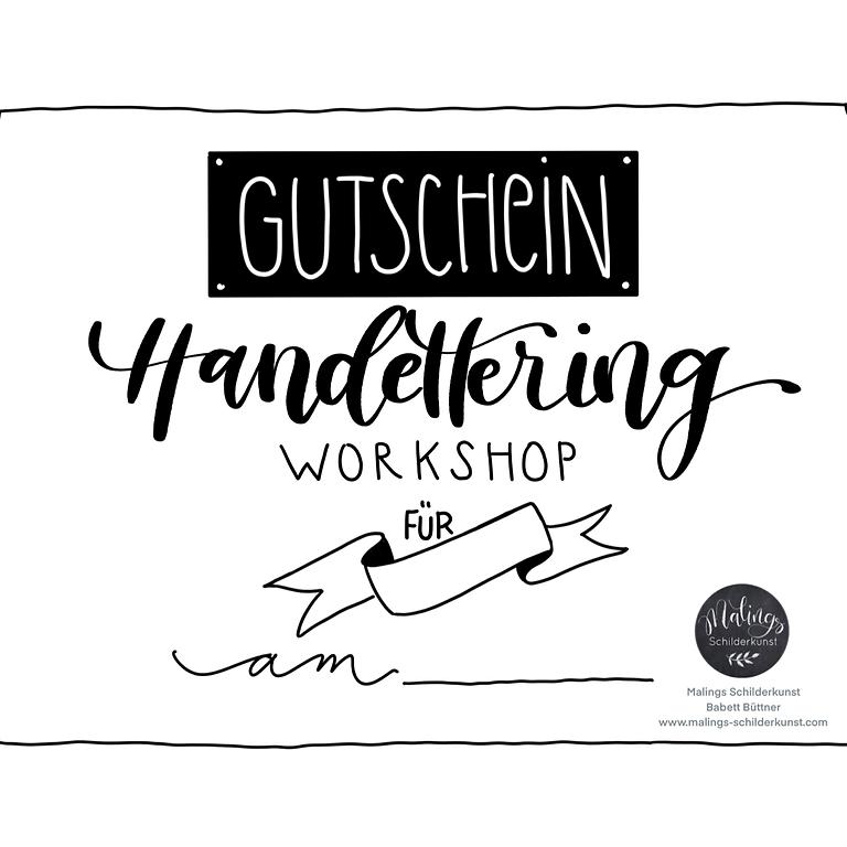 Handlettering, Aquarell, Chalk-Lettering, BUJO oder Procreate - 4h I 95€